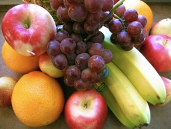 Adelgazar comiendo frutas