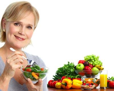Alimentacion durante la Menopausia