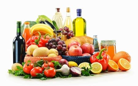 Alimentos Mediterraneos para tu Dieta