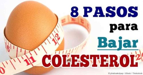 Consejos para bajar el Colesterol Malo