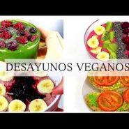 Desayunos veganos ricos y saludables