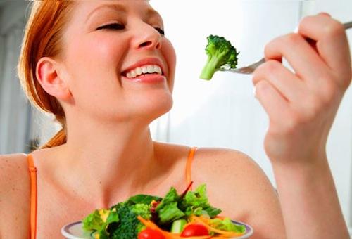 Dieta con verduras