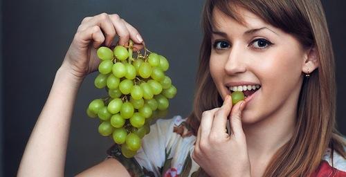 Dieta de la uva para adelgazar y desintoxicar
