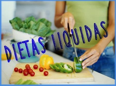 bajar de peso dieta liquida