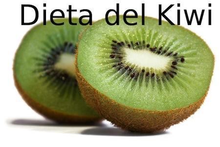 Dieta para bajar de peso con el Kiwi