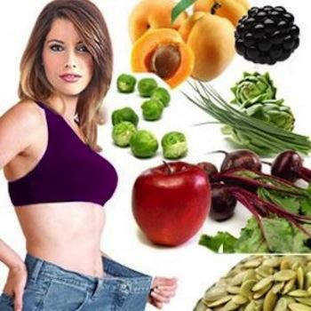 Dieta para perder peso y volumen