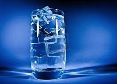 El Agua fria para Adelgazar