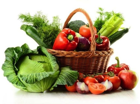 Importancia de las verduras en la Dieta