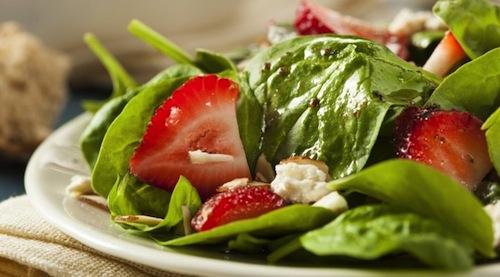 La Espinaca buena fuente para perder peso