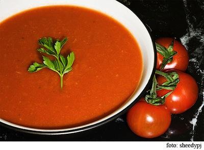 Sopa de tomate para Perder Peso