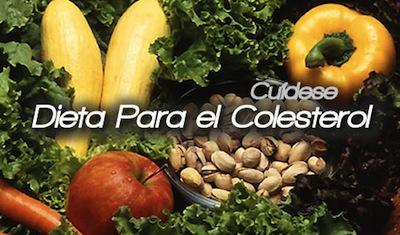 Una buena dieta anticolesterol