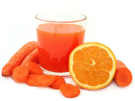 Zumo de Zanahoria y Naranja para Adelgazar