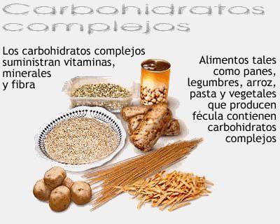 carbohidratos Sirven los hidratos de carbono para adelgazar