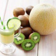 Licuado de melón y kiwi para adelgazar