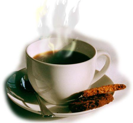 taza de cafe humeante 1 Sirve el café para adelgazar
