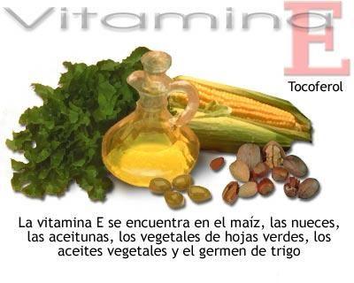 vitaminaE Para qué sirve la vitamina E